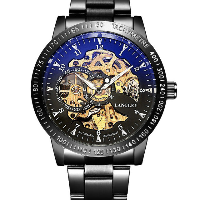 Top Luxury Mechanical Skeleton Watch - GaGodeal