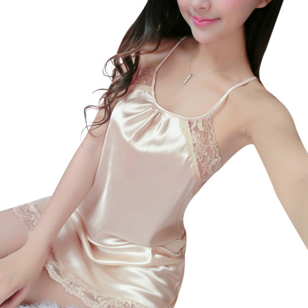 Lady Silk Nightgown