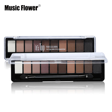 10 Colors Eyeshadow Palette - GaGodeal
