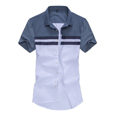 New Arrival Mens Shirt Fashion Short Sleeve