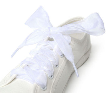 Flat Silk Satin Ribbon Shoe