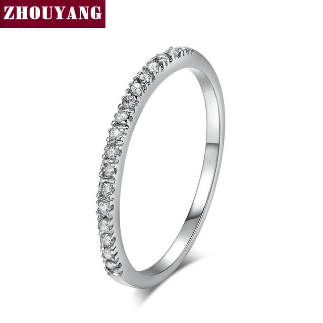 Classical CZ Ring Rose Gold - GaGodeal