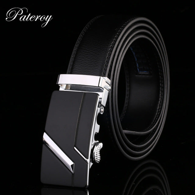 Genuine Leather Automatic Belt