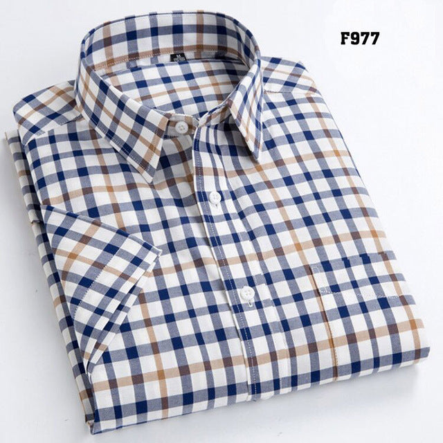 High Quality Men's Oxford Casual Shirt - GaGodeal