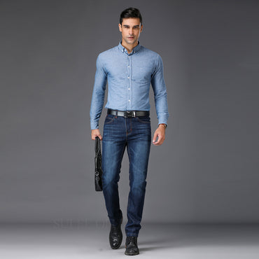 European American Style Stretch Denim