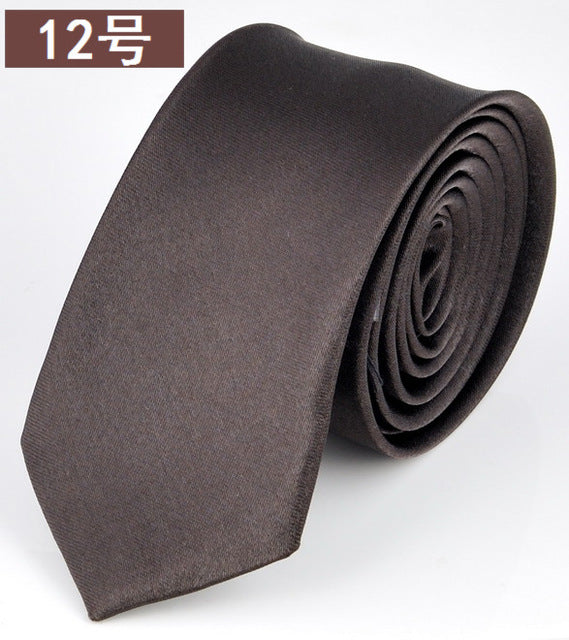 Fashion Skinny Necktie