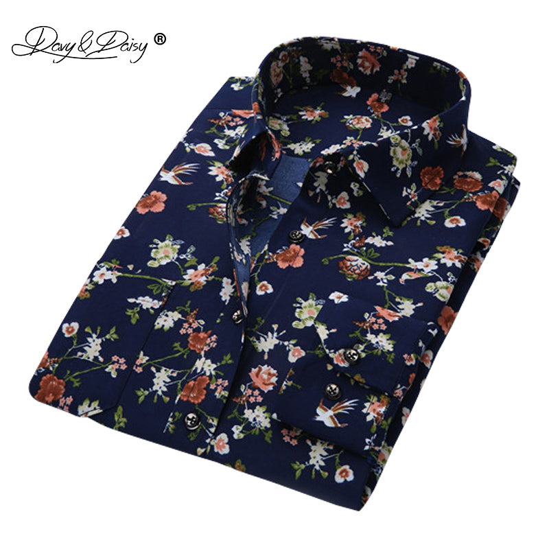 Fashion Floral Printing Shirt