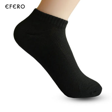 Men's  Mesh Breathable Thin Short Sock - GaGodeal