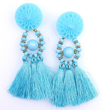 Boho Drop Dangle Fringe