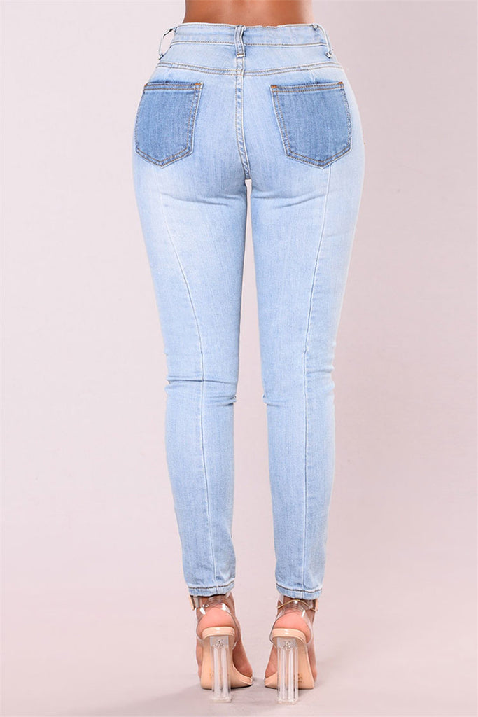 Contrary Hight waist Denim - GaGodeal