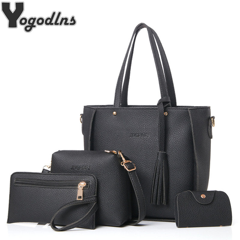 Women Bag Set Top-Handle