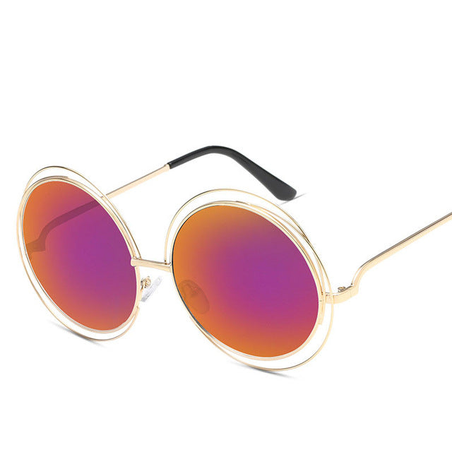 Luxury Round Sunglasses