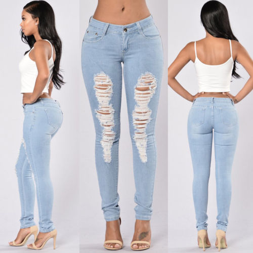 Ripped Distressed Slim - GaGodeal