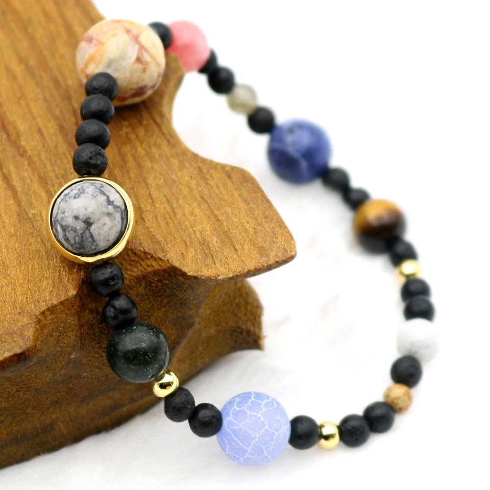 9 Planets U Style Natural Stones