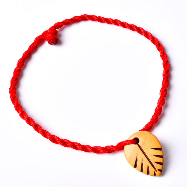 Knot Heart Leaf Rope C