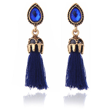 Long Tassel Earrings - GaGodeal