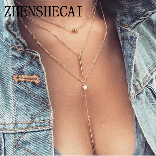 Fashion Alloy Women's Necklaces
