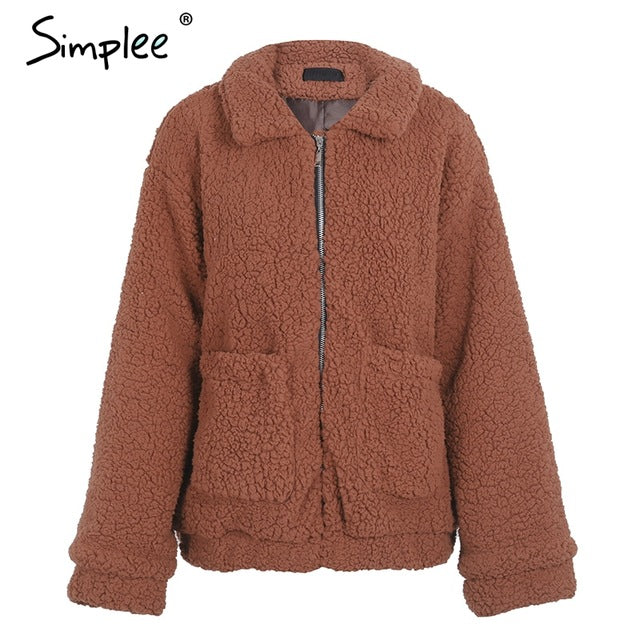 Simplee Faux lambswool
