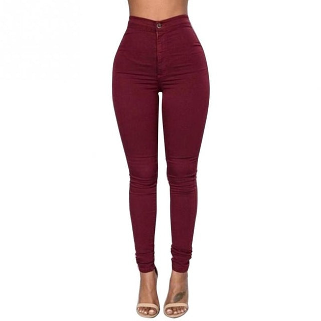 n Candy Color Pencil Pants - GaGodeal