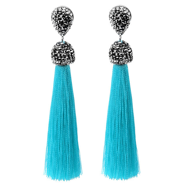 Handmade 12 Colors Long Tassel
