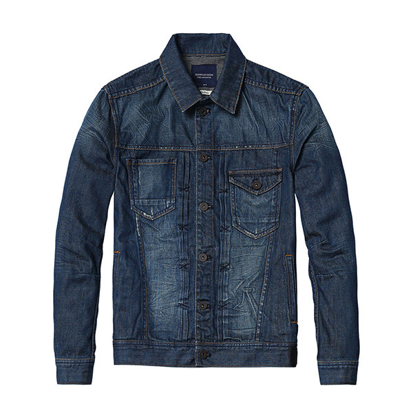 New Fashion Streetwear Jeans Jacket