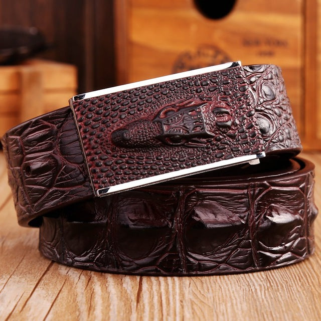 2018 Brand New Fashion Crocodile Belt - GaGodeal