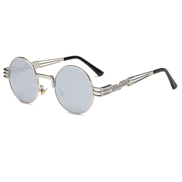 Luxury Men Round Sunglasses