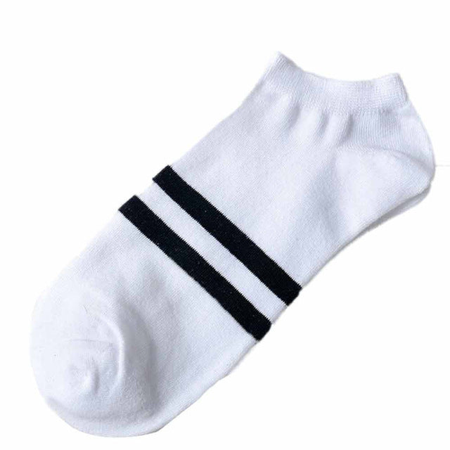 Unisex Socks Comfortable Stripe Cotton