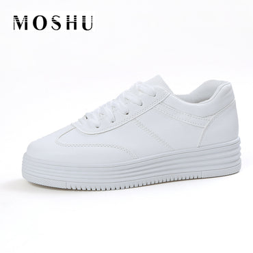 Causal Shoes White Basket - GaGodeal