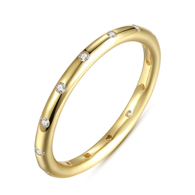 Stackable Finger Classic Ring
