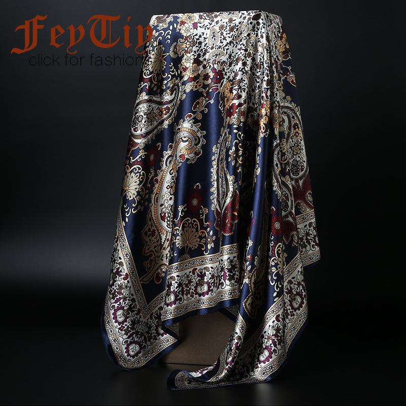 Fashion Paisley Scarfs Square