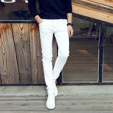 Fashion Casual Thin Stretch Jeans