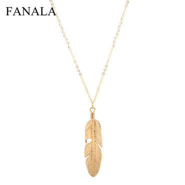 Jewelry Feather Pendant