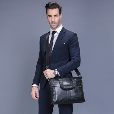 2018 Fashion Briefcase Business Shoulder Bag - GaGodeal
