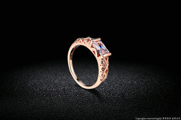 Red Crystal Ring - GaGodeal