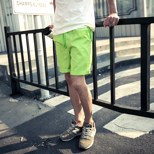Casual Khaki Men Shorts - GaGodeal