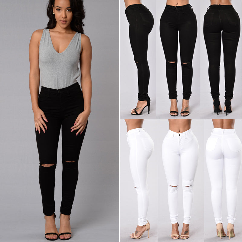 High Waist Skinny Fashion - GaGodeal