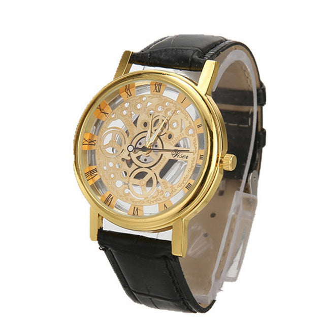 2018 Luxury Fashion Men Watch Stainless Steel Quartz - GaGodeal