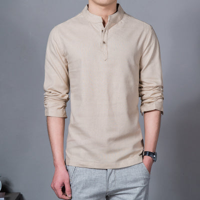 2018 Fashion Long Sleeve Men's Shirts - GaGodeal