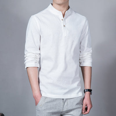 2018 Fashion Long Sleeve Men's Shirts