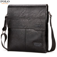 POLO Vintage Fashion Mens Leather Bag
