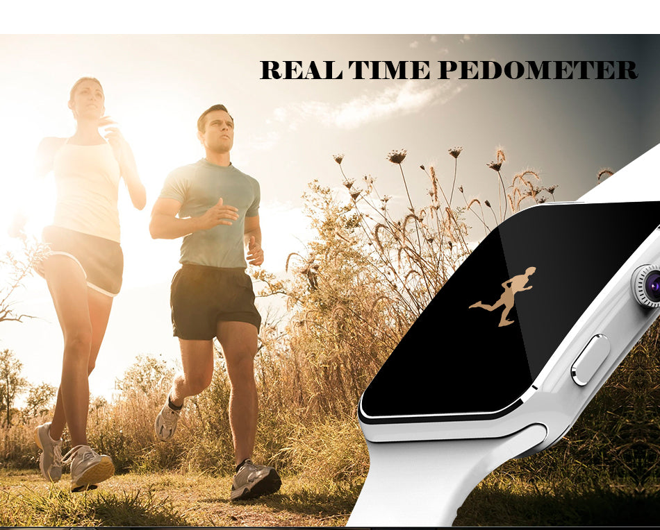 Bluetooth Smart Watch Sport Passometer