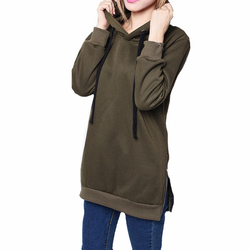 Zanzea Womens Long Sleeve Hooded - GaGodeal