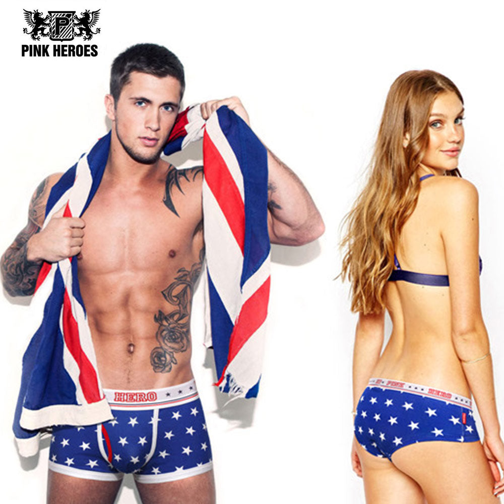 Fashion Couple Panties Underwear