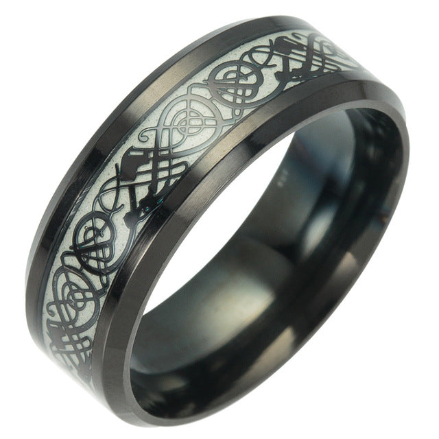 Luminous Plated Silver Ring - GaGodeal