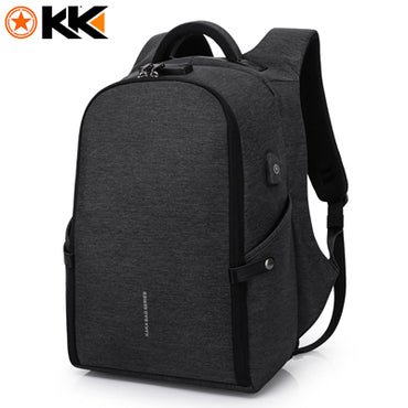 Men Fashion USB Anti theft Backpack