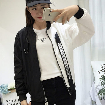 Jackets Women New Fashion Women's Basic Jacket Casual