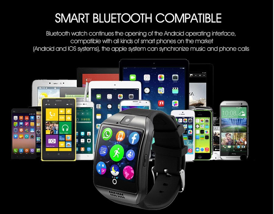 Smart Watch Q18 Passometer With Touch Screen