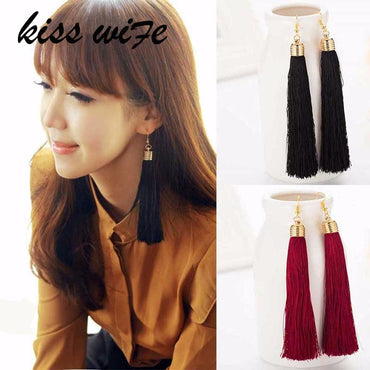 New Hot Tassel Drop Earrings