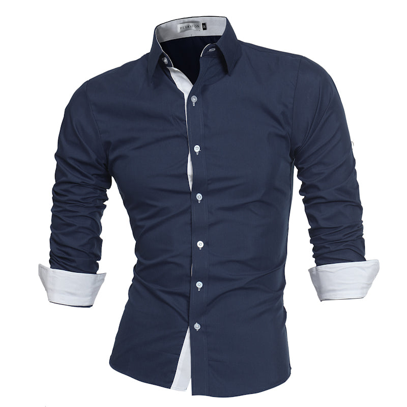 2018 High Quality Men's Long Sleeve Shirts - GaGodeal